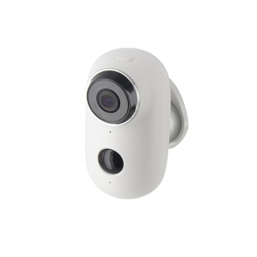 Outdoor battery-operated HD Wi-Fi camera, 100% wireless