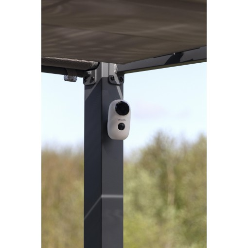 HD-buitencamera op batterijen met wifi, 100% draadloos