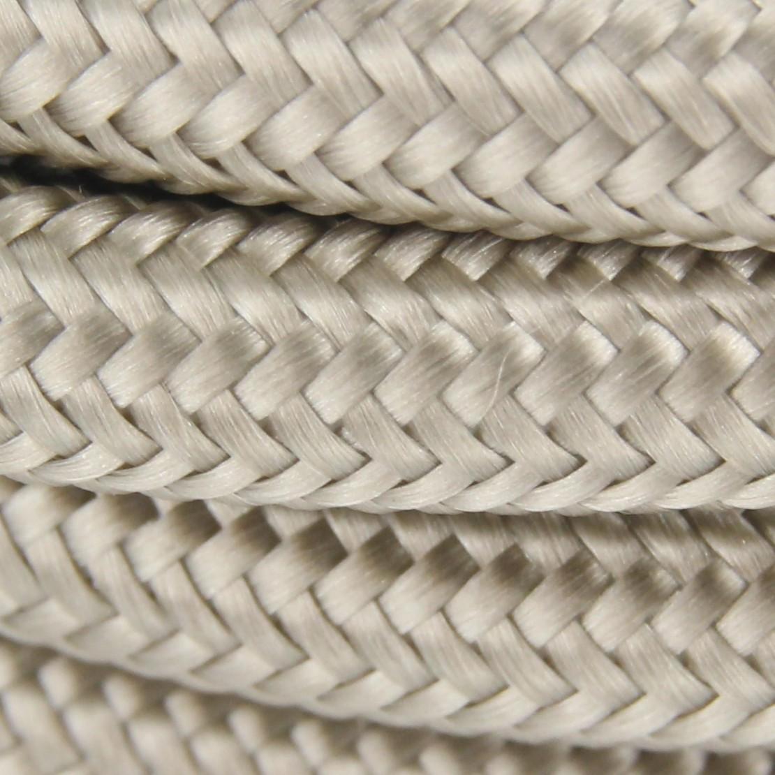 Câble textile soie cipria HO3VV-F 2x0,75mm2 3m cuivre