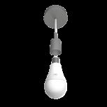 Set de 2 ampoules LED connectées et télécommande