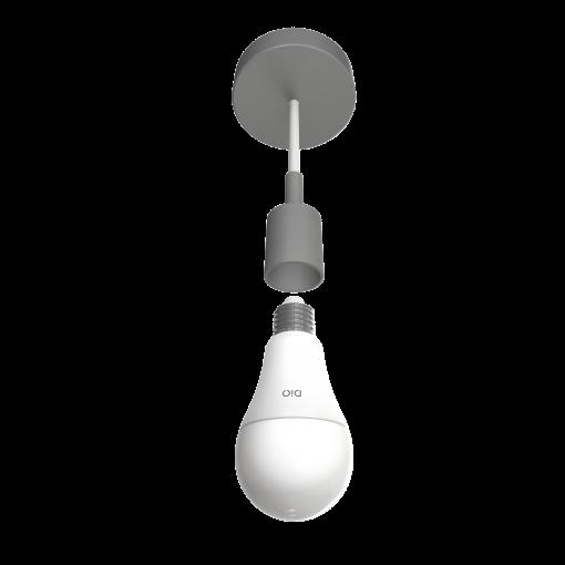Kit de 2 bombillas LED conectadas y mando a distancia