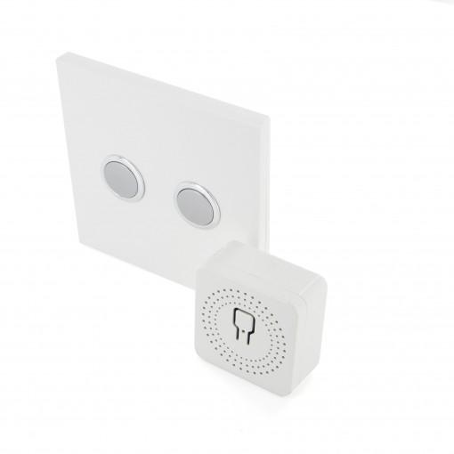 Pack de iluminação design DiO2.0Modulo iluminaçao e interruptor branco