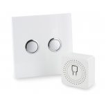 Pack Eclairage design DiO 2.0 Module éclairage & interrupteu r blanc