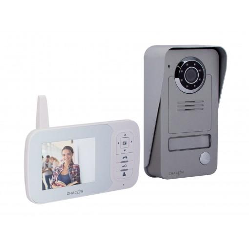 """Draadloze 2.4GHz digitalevideofoon met 3.5"""" LCD scherm"""