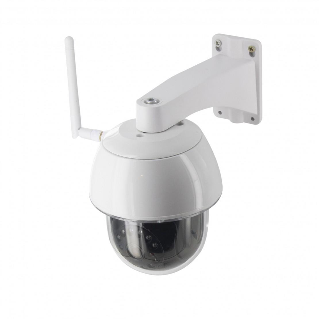 Caméra IP extérieure motorisée
