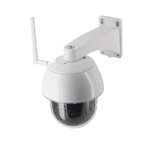 Motorised outdoor IP camera