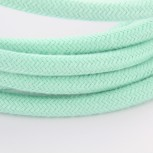 Câble textile soie menthe HO3VV-F 2x0,75mm2 3m cuivre