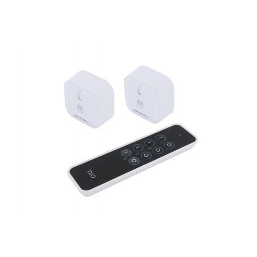 Kit met 2 rolluikenmodulen en afstandsbediening - DiO 1.0