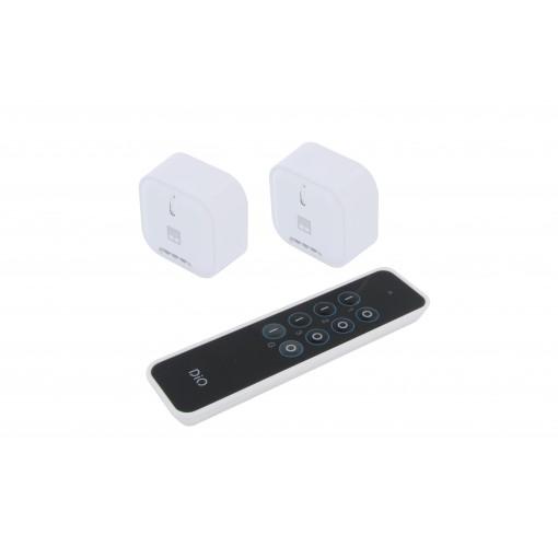 Kit con 2 módulos de persiana y mando a distancia - DiO 1.0