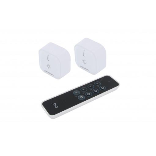 Kit 2 módulos de iluminação(1000W) e telecomando - DiO 1.0