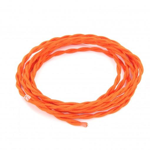 Cable textile soie torsadé ora HO3VV-F 2x0,75mm2 3m