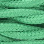 Cable textile soie torsadé ver HO3VV-F 2x0,75mm2 3m