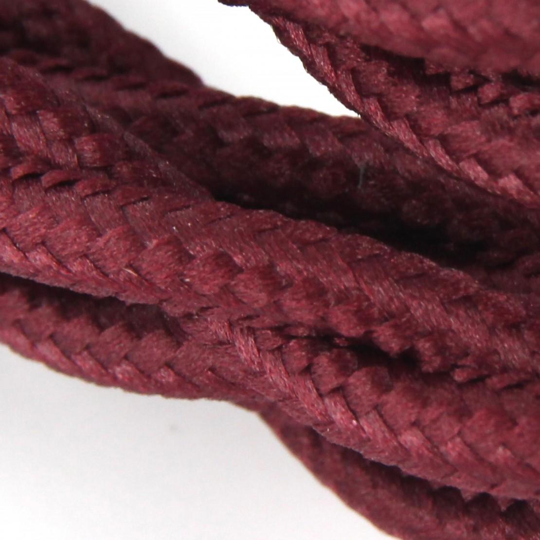 Cable textile soie torsadé bor HO3VV-F 2x0,75mm2 3m