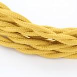 Cable textile soie torsadé mou HO3VV-F 2x0,75mm2 3m