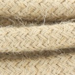 Cable textile jute HO3VV-F 2x0,75mm2 3m
