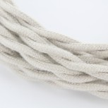 Cable textile coton torsadé to HO3VV-F 2x0,75mm2 3m