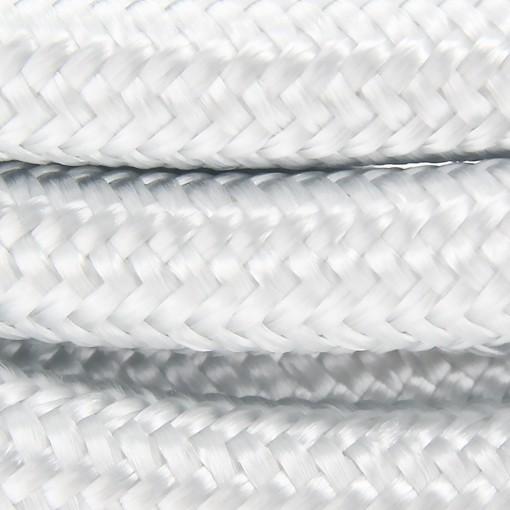 Cable textile soie Argent HO3VV-F 2x0,75mm2 3m