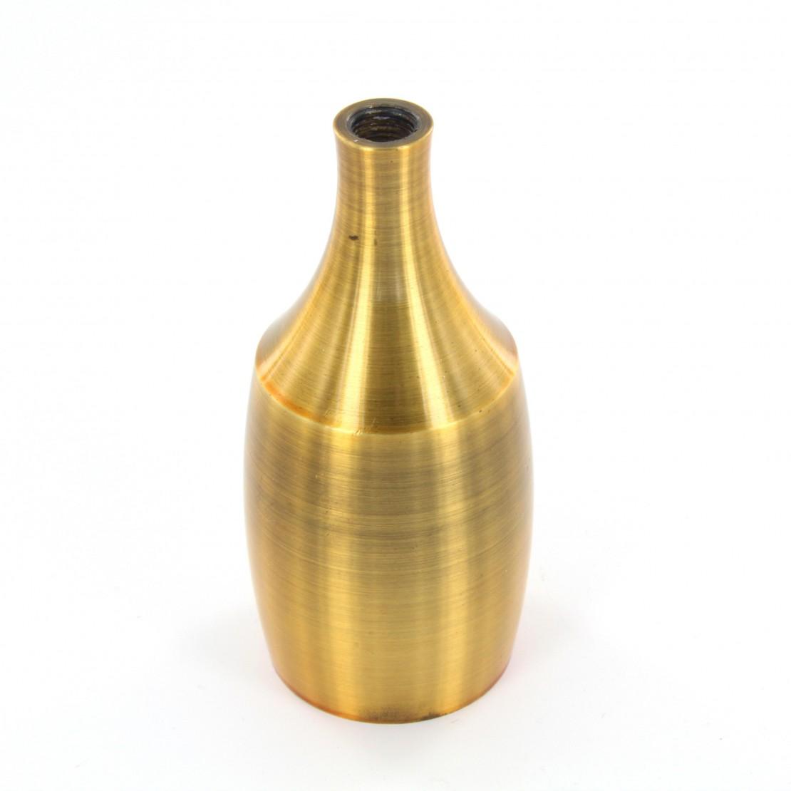 Douille métallique or