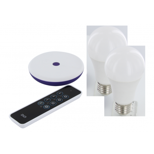 DiO Home+ connected bulb pack