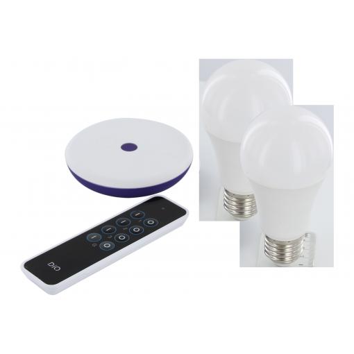 Pack de lâmpadas com ligação à internet DiO Home+