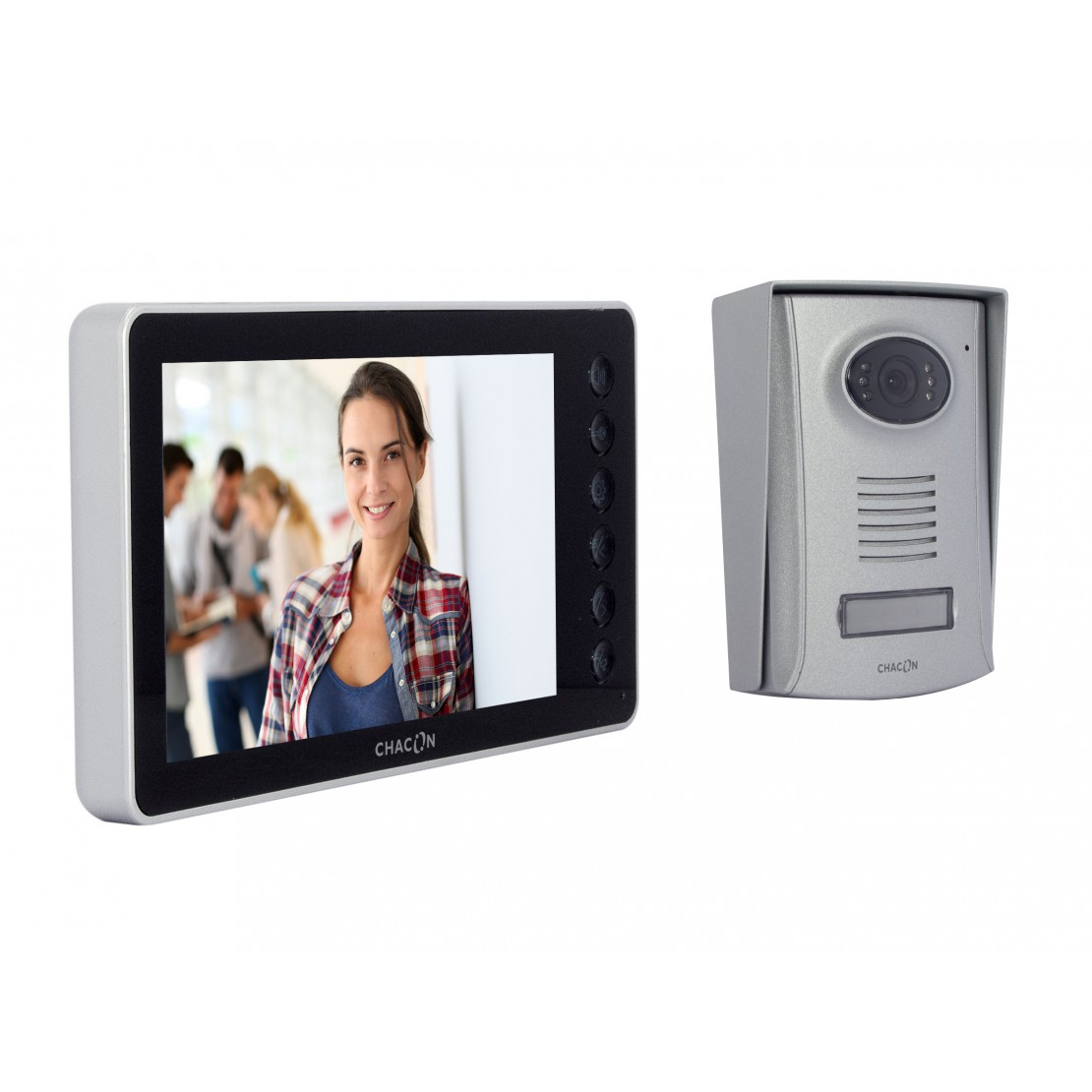 Videophone 2 fils 7''  - Noir