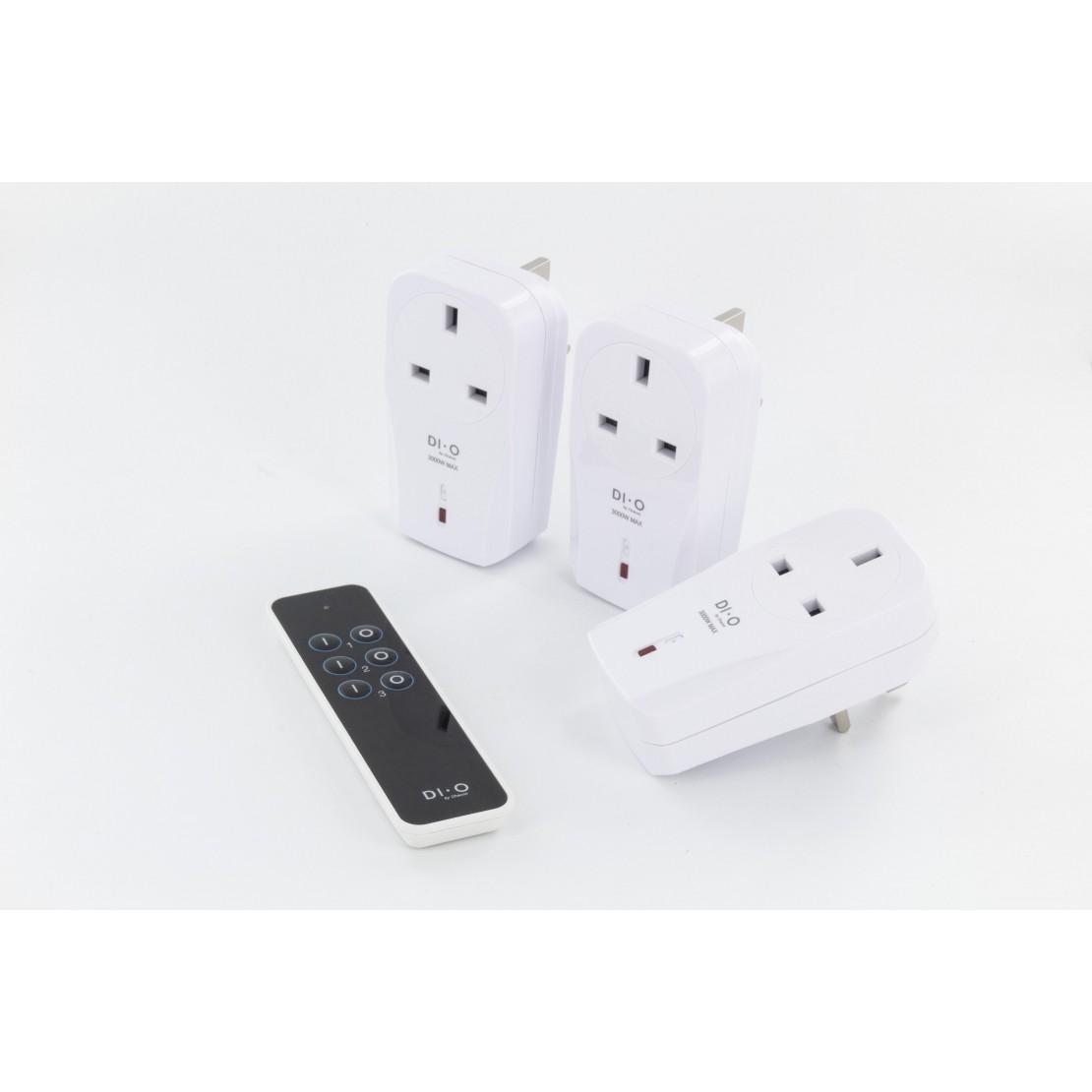 DiO First - UK :3 On/Off plus (3000W) + remotecontrol