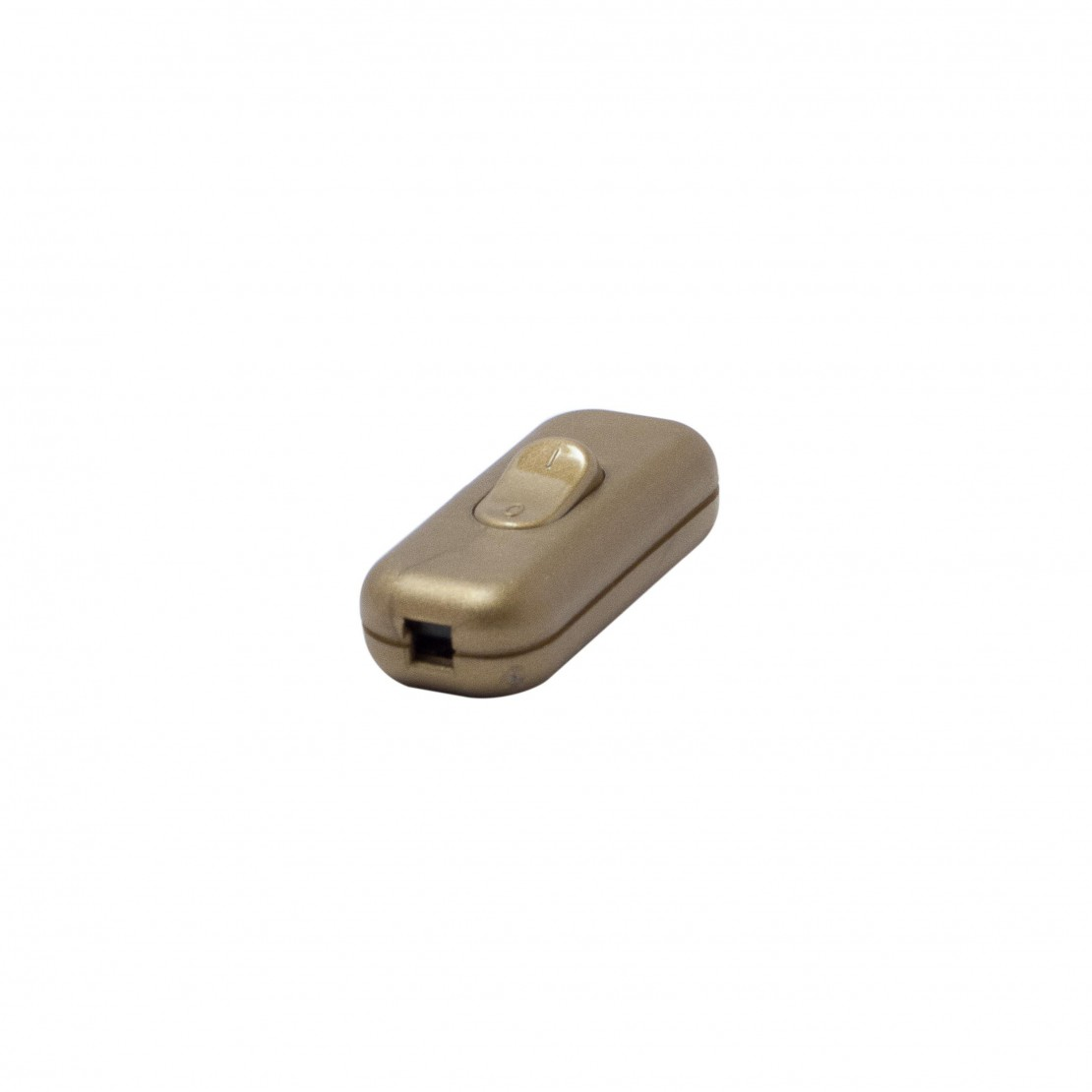 Double pole single throw switch, gold