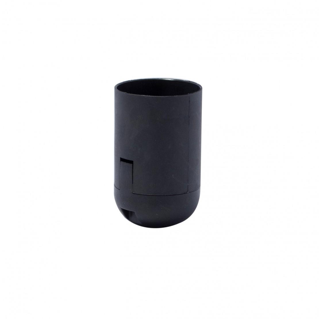 Douille E27 noire avec connection rapide