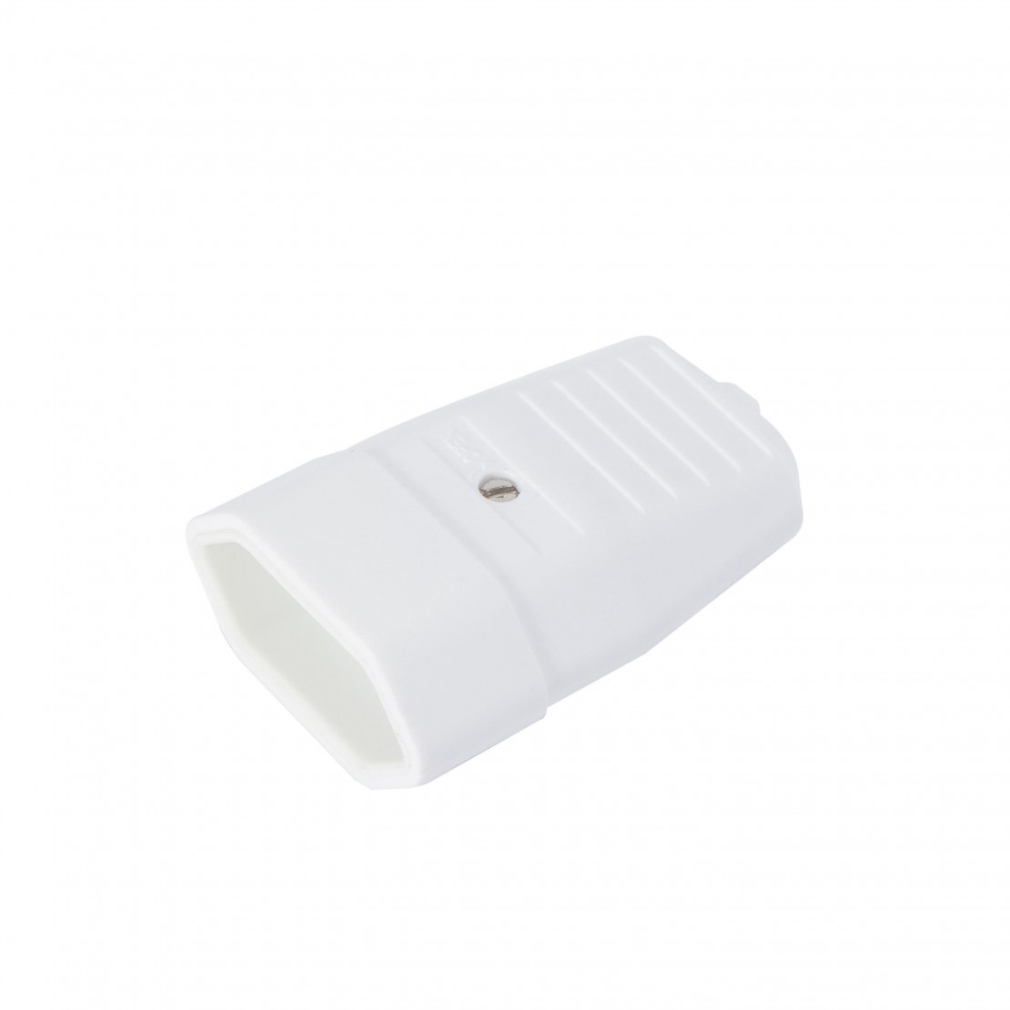 Flat mobile socket - 2.5 A white (2 pcs)