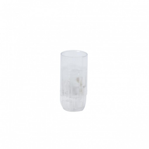 E14 smooth quick-connect lamp holder, transparent