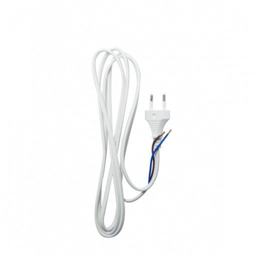 White cable 2 m