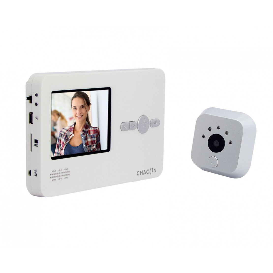 "Digital peephole with 2.8"" LCD screen"