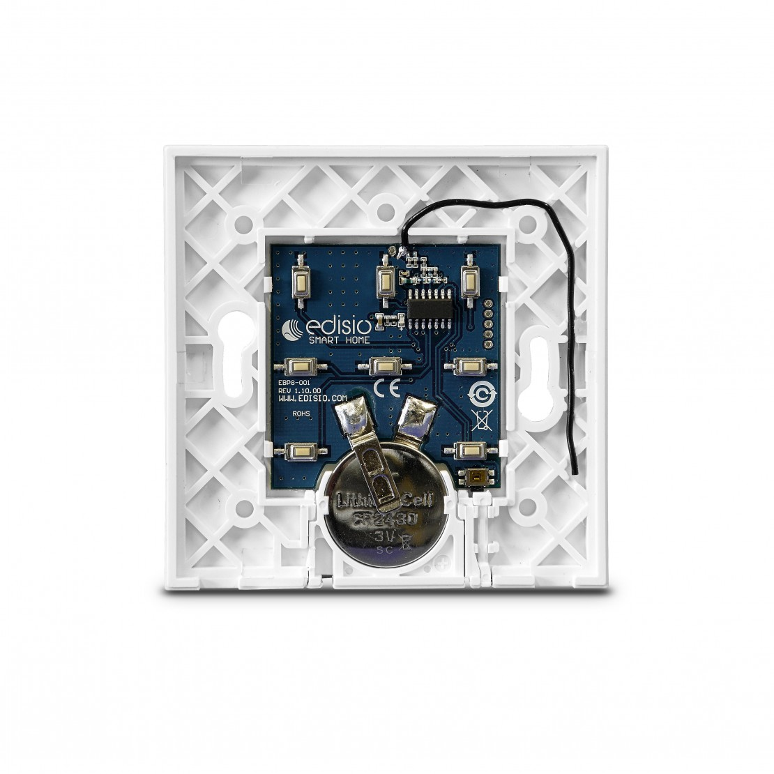 White base for Edisio switch (1 to 5 channels)
