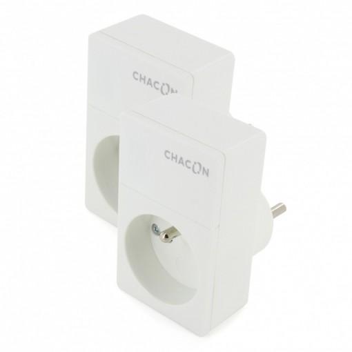 Kit tomadas Duo Wi-Fi CHACON2 Tomadas wi-fi chacon