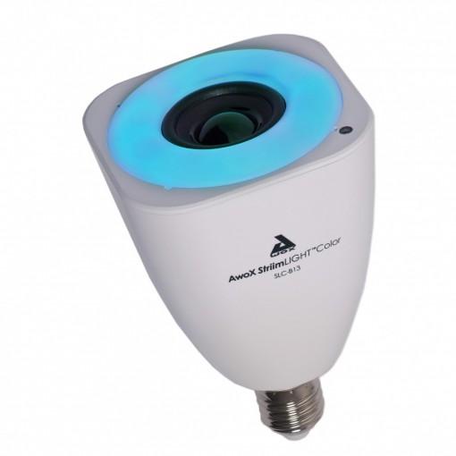 StriimLIGHT - lâmpada E27 de cor, ligação à internet com coluna Bluetooth