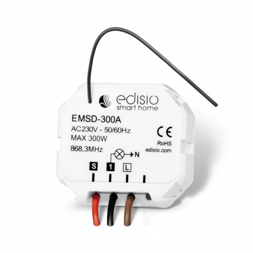 Dimmer transmitter/receiver micro-module