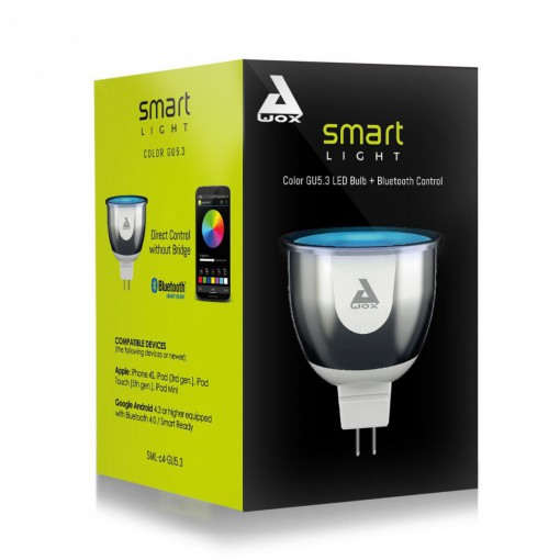 SmartLIGHT - colour GU5.3 Bluetooth connected bulb