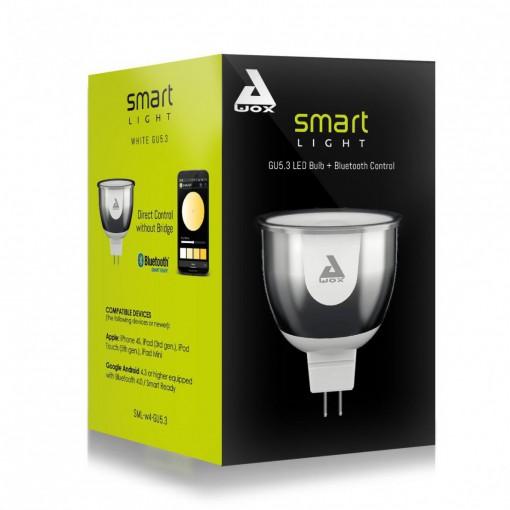 SmartLIGHT - bombilla GU5.3 blanca conectada Bluetooth