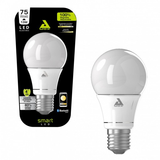 SmartLED - white E27 Bluetooth connected bulb