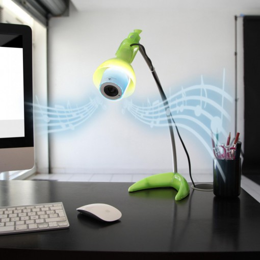 Mini Color LED lamp+ Bluetooth Speaker