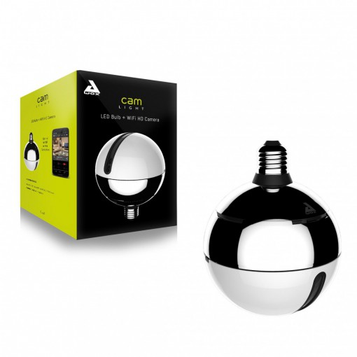 CamLIGHT - HD WiFi lamp and camera