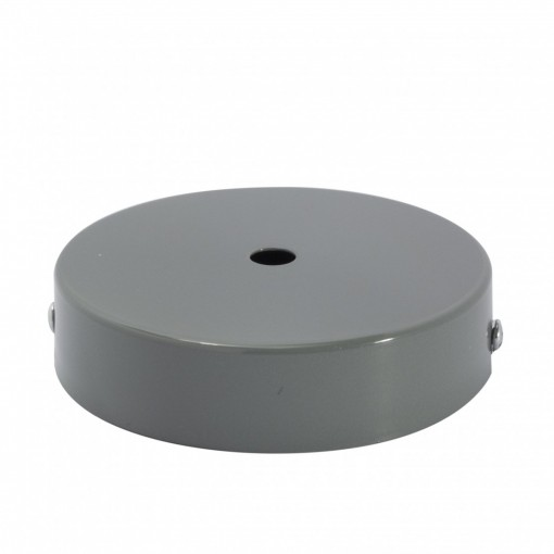 Zócalo metálico gris
