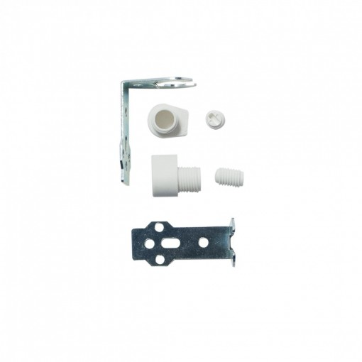White bracket for E14 lamp holder (2 pcs)