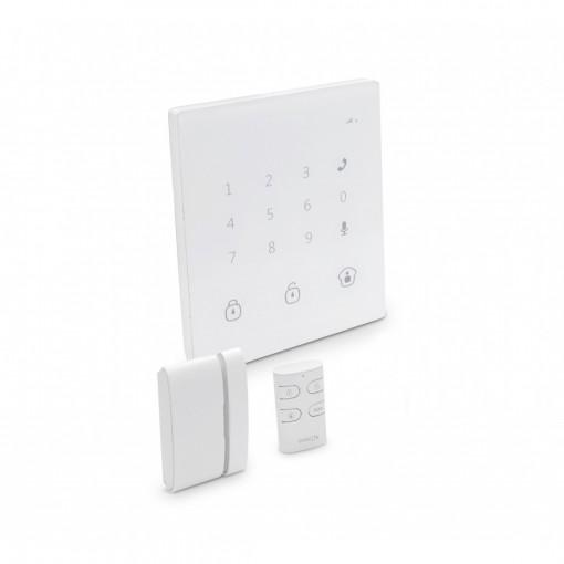 Sistema de alarme GSM/SMS sem fios táctil
