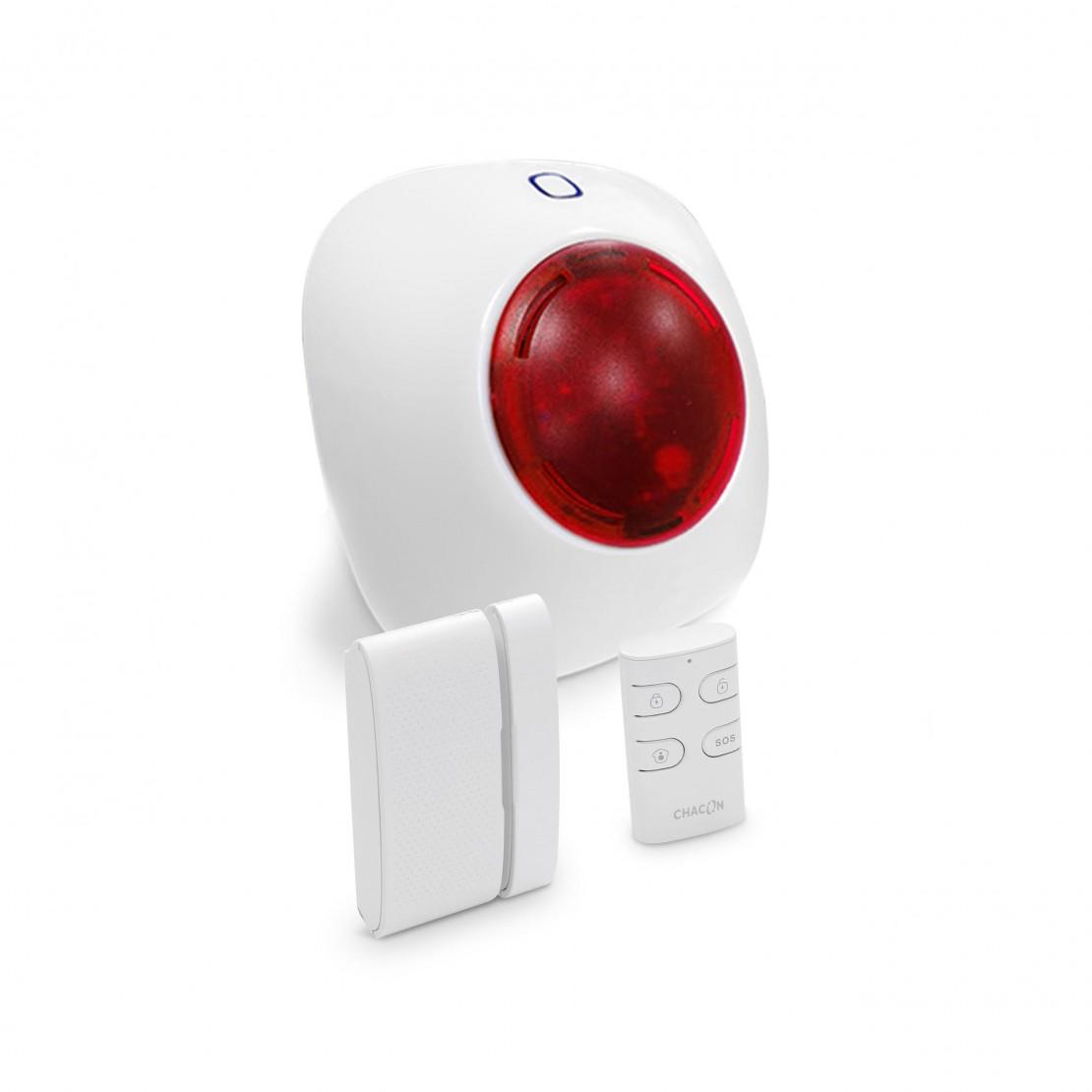 Draadloos alarmsysteem voor lokaal gebruik