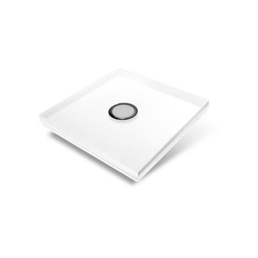 Cubierta para interruptor Edisio - crystal blanco