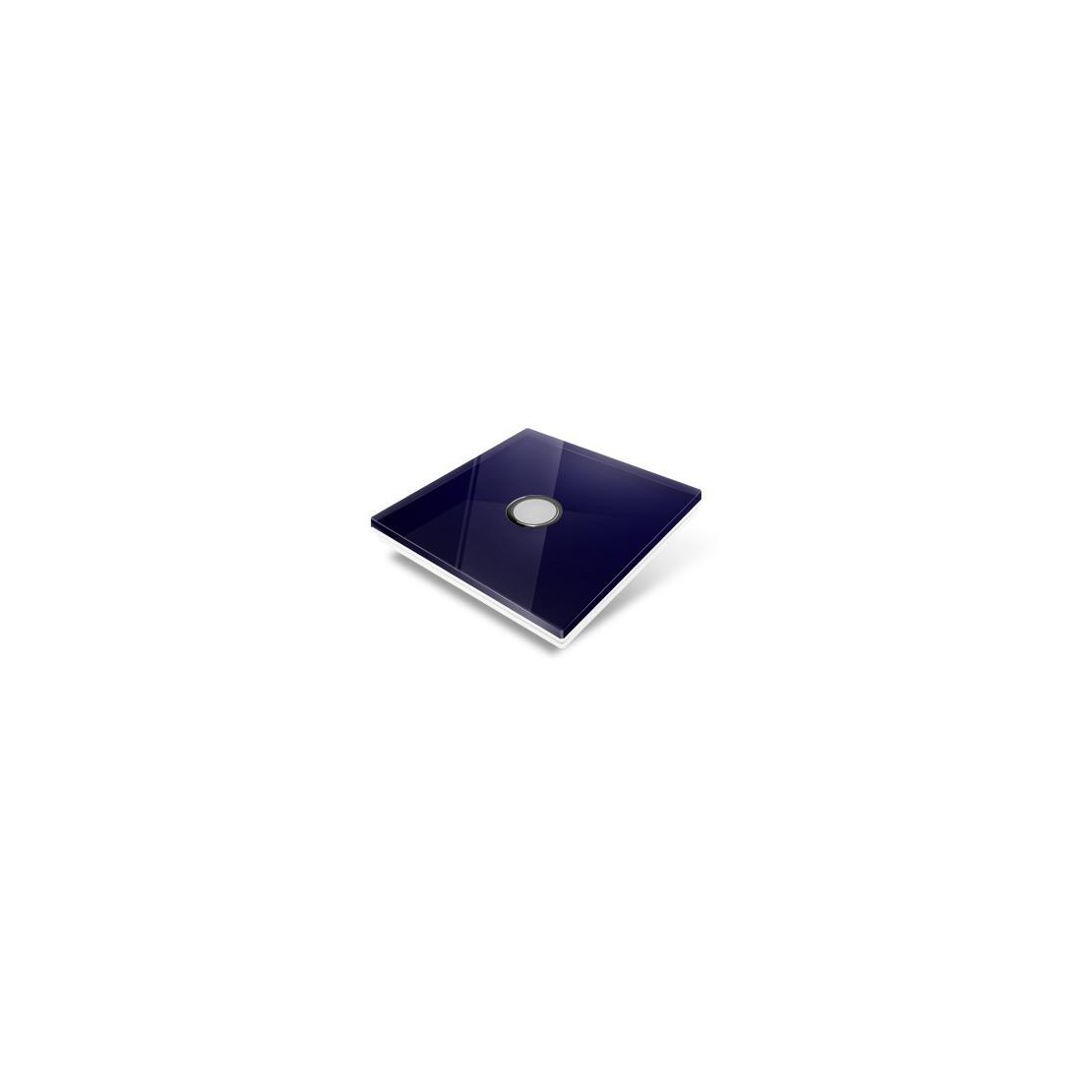 Cubierta para interruptor Edisio - crystal azul noche