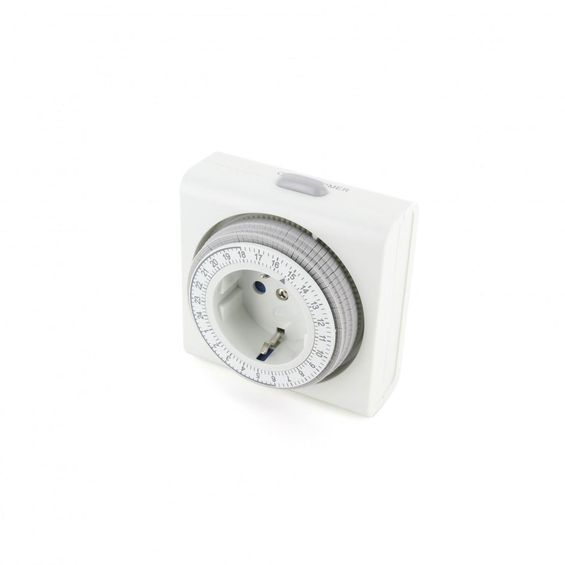Semi-threaded E27 lamp holder, white, bulk