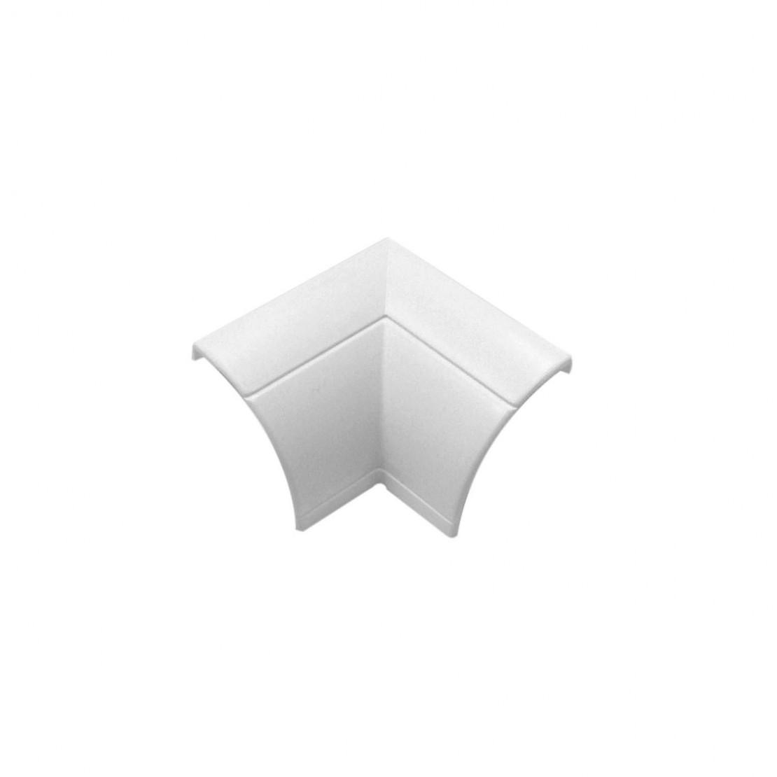 2 ángulos internos blancos con clip 22/22