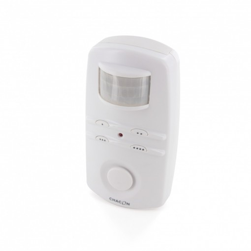 Alarma detector de movimiento con código